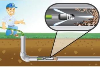Гидродинамическая прочистка канализации 100% результат