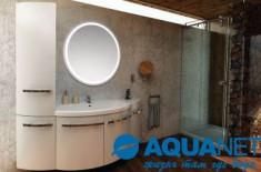 Каталог мебели для ванной комнаты серии Aquanet