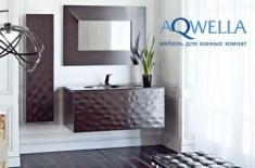 Каталог мебели для ванных комнат Aqwella