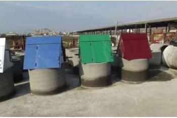 Типы и размеры колодезных бетонных колец