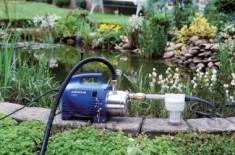 Дачный вариант поверхностного водяного насоса
