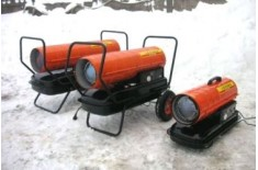 Разновидности и выбор модели тепловой пушки на дизеле