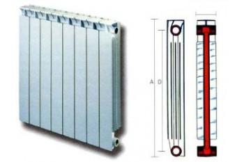 Биметаллические радиаторы: разновидности и цены