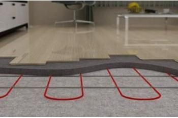 Как устроен теплый пол на бетонной стяжке