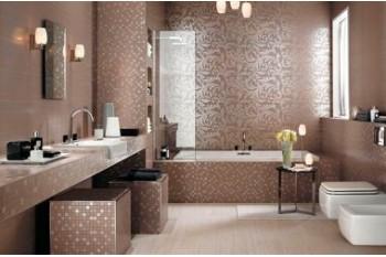 Виды плитки для ванной комнаты производства Италия