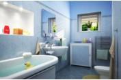 Пластиковые панели в отделке стен ванной комнаты