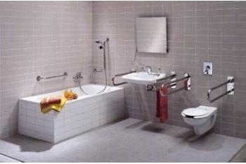 Выбираем правильно поручни для ванной и туалета