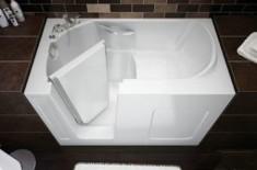 Для чего нужны и какие бывают сидячие ванны
