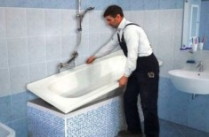 Акриловый вкладыш: преимущества метода для ванны