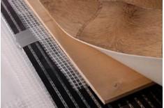 Монтаж инфракрасного пленочного теплого пола под линолеум