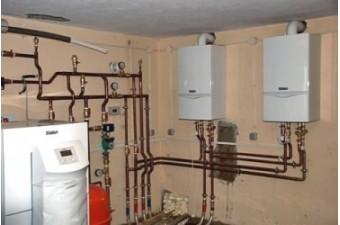 Подключение двухконтурного газового котла к системе отопления