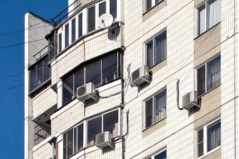 Правила установки кондиционера на фасад многоквартирного дома