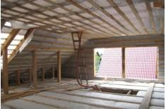 Чем делать утепление мансарды изнутри если крыша уже покрыта