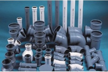 Внутренние трубы и фитинги из ПВХ для канализации