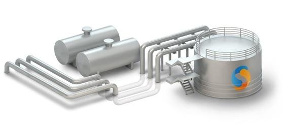 промышленные трубопроводные системы