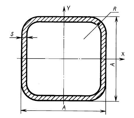 формы и параметры сечения