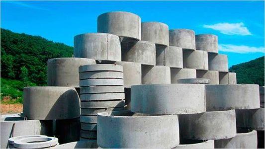 армирование колец бетонных