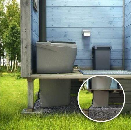 туалет с длинным днищем