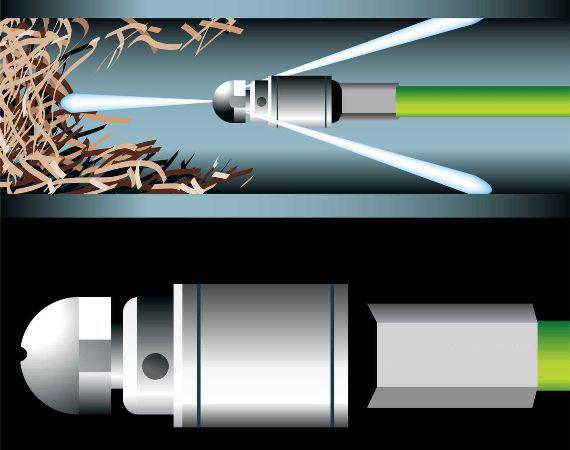 особенности гидродинамического способа прочистки труб