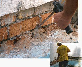 подготовка под герметизацию канализации