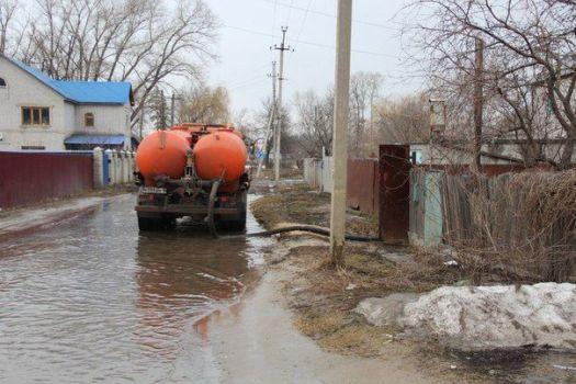 откачка канализации в деревне