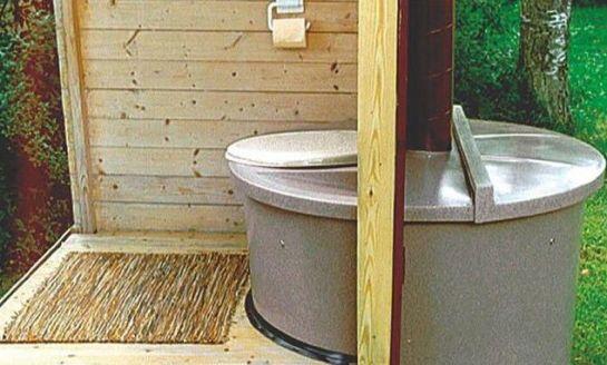 как устанавливать торфяной туалет на даче