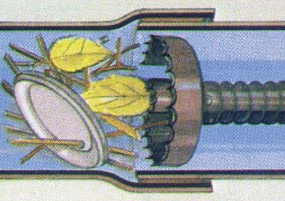механическая прочистка труб