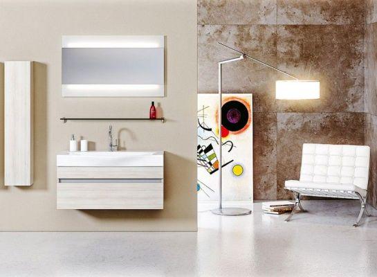 современная мебель для ванн