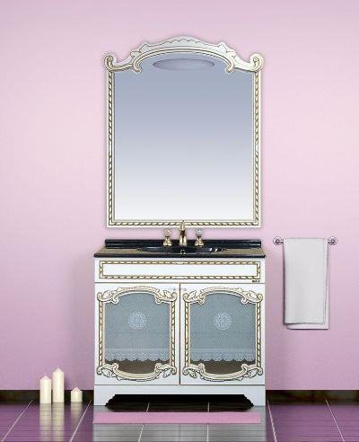 мебель со вставками из стекла
