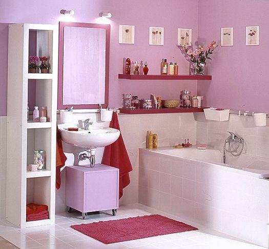 стеллажный пенал в ванную