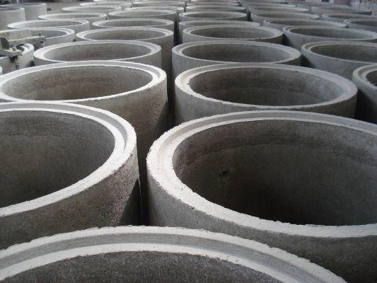 бетонное кольцо с замком