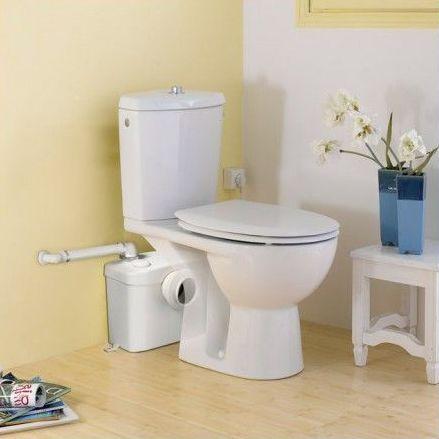 фекальная система в туалете