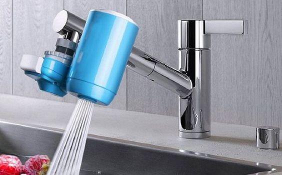 насадка на смеситель для очистки воды