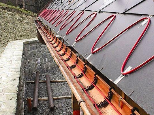 греющий кабель для крыши