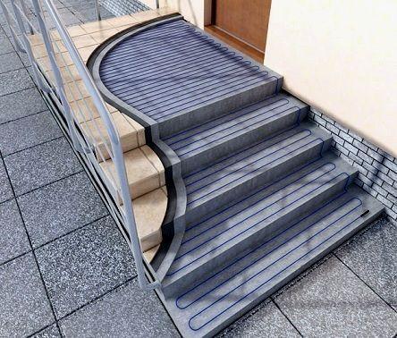 греющий кабель для лестницы