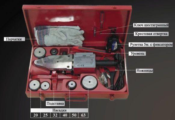 ящик с комплектующими паяльника