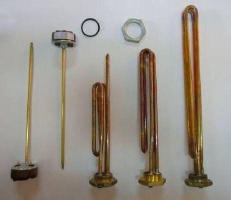 разновидности тэнов для нагревания воды