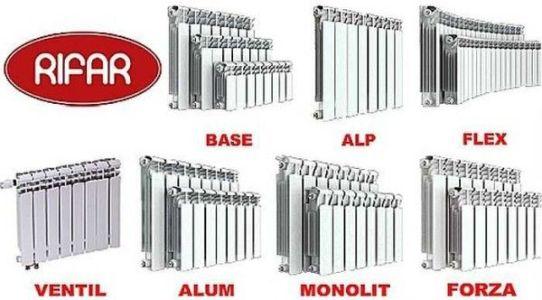 российские алюминиевые радиаторы