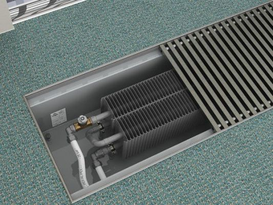 батарея встроенная в пол