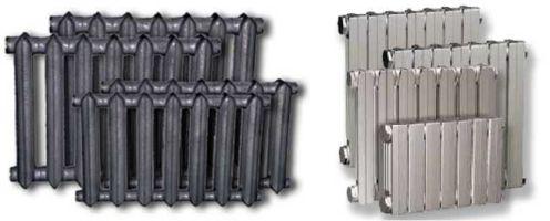 новые чугунные модели радиаторов