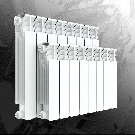 модели биметаллических батарей отопления рифар