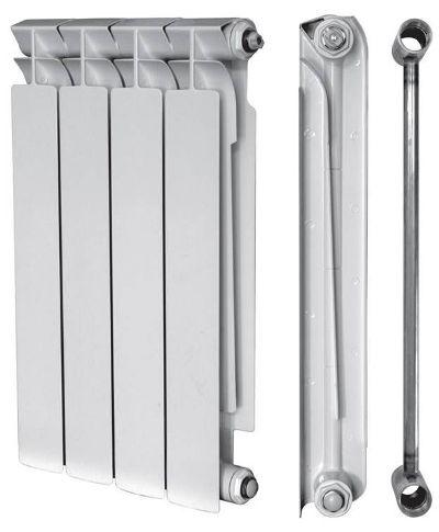 биметаллический радиатор в сборе