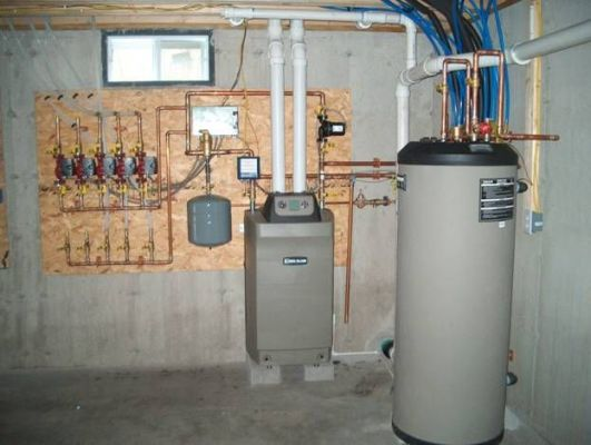 бойлер в системе отопления дома