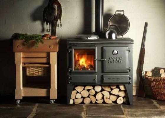 печь с использованием дров