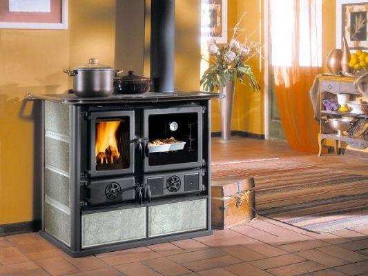 комбинированный вид печи длительного горения для отопления