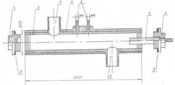 чертеж электродного котла отопления