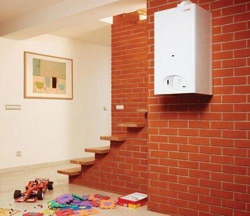 настенный котел отопления для ста квадратных метров