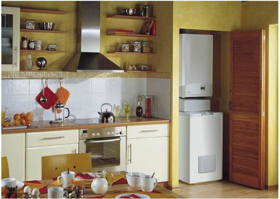 электрокотел на небольшой кухне