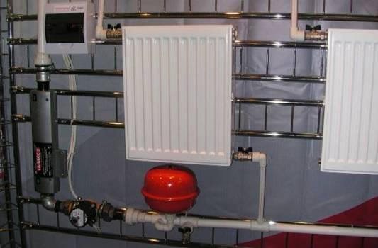система с энергосберегающим котлом