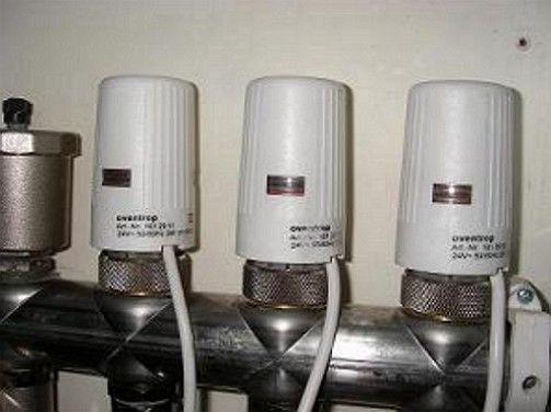 температурные датчики в доме